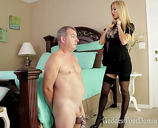 Husbands awaited release with domme alexis