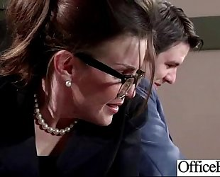 (bridgette b) office BBC slut get enticed and naild hard style clip-07
