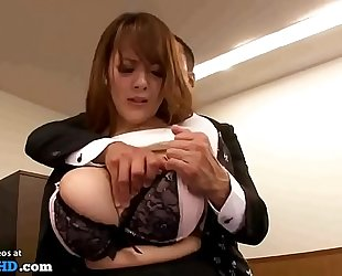 Japanese secretary with massive natural melons - greater quantity at elitejavhd.com