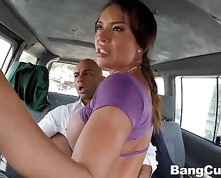 Franceska jaimes receives drilled all over city
