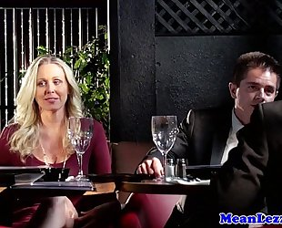 Classy aged lesbosex with julia ann and pal