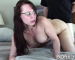 Propertysex - exceedingly motivated real estate agent orgasmic sex with client