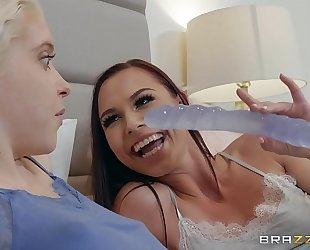 First time with my bff aidra fox & chloe cherry hawt and mean at http://bit.ly/brazzersfull