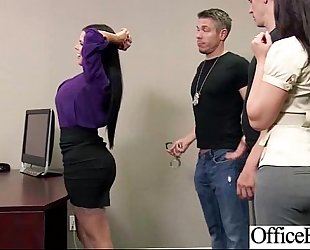 (diamond kitty) breasty office floozy lustful Married slut group-fucked clip-15