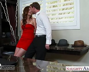 Sexy jillian janson acquires drilled at a wedding