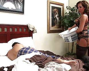 Richelle ryan seduces her step-son in his own bedroom hd