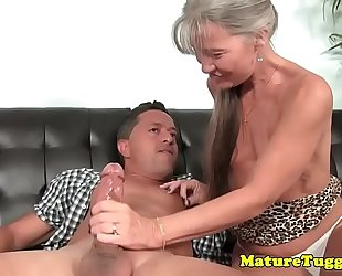 Smalltit gilf jerking rod on daybed