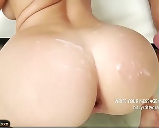 Anal sex with an outstanding BBC slut