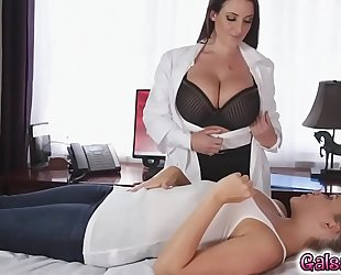 Mia malkova makes dr. white's bawdy cleft soaked and lewd