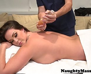 Busty massage playgirl alison tyler screwed