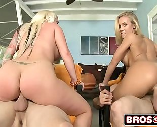 Big a-hole blondes with blue eyes feat. nicole aniston & angel vain